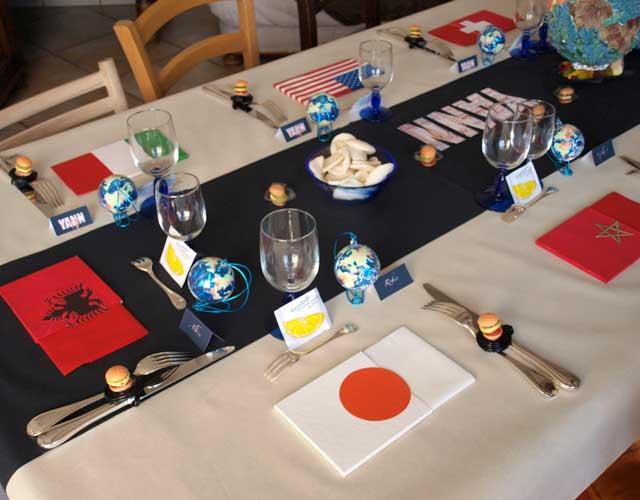 D Co Table Th Mes Autour Du Monde D Coration