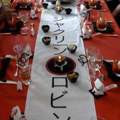 Deco Table Themes Japon Decoration Personnalisee De Table
